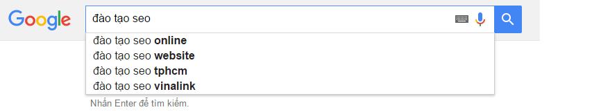 Công cụ Google Suggets