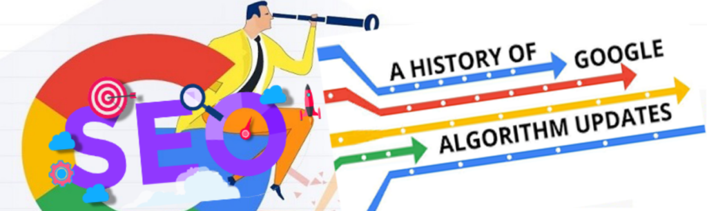 history of google algorithm update