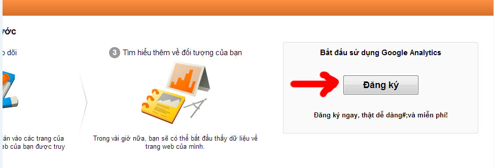 Đăng kí Google Analytics