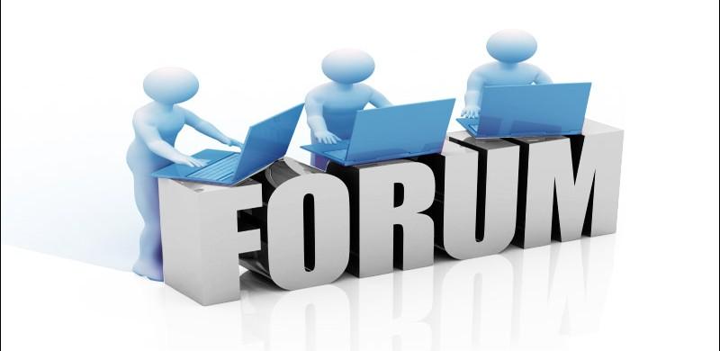 Tham gia thật nhiều forum, mạng xã hội