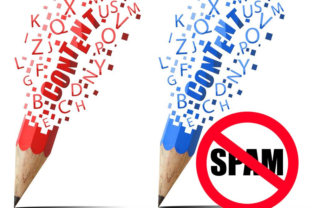 Viết bài chuẩn SEO sẽ không bị coi là Spam