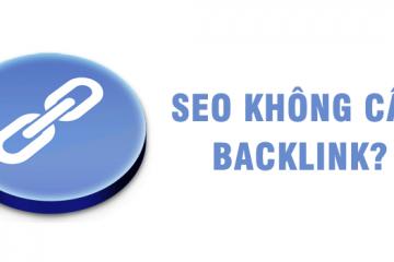 SEO không cần Backlink