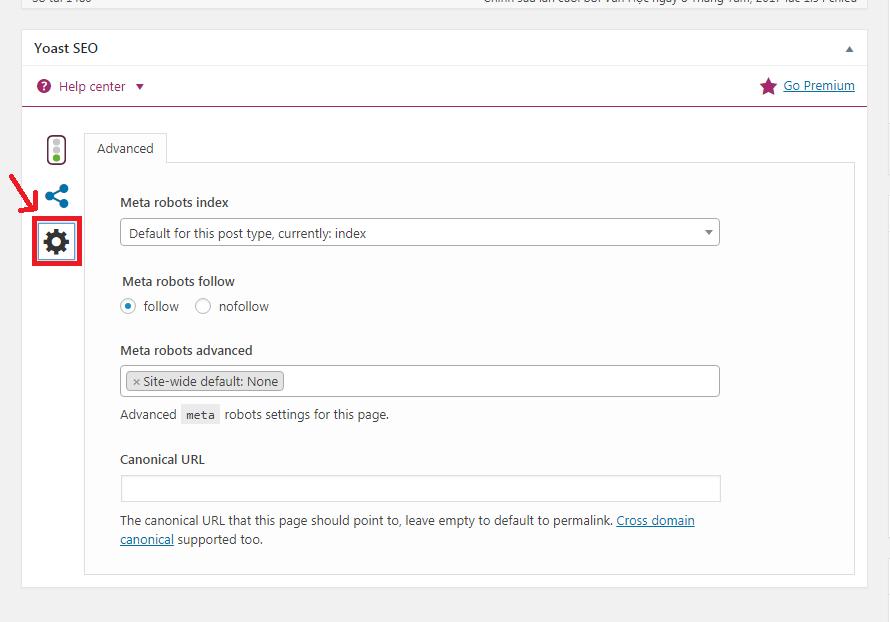 Sử dụng thẻ canonical trên WordPress