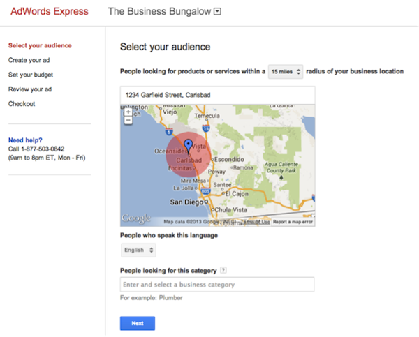 adwords express extra