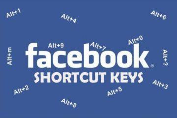 Phím tắt nhanh cho Facebook