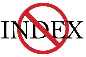 Thuật ngữ No-Index là gì?